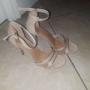 Shoes - Strappy heels.